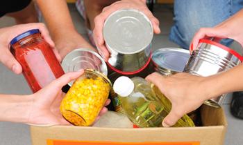 1- Campaña recolección de alimentos